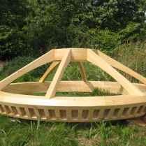 Toono (couronne) bois massif (creusé dans la masse)